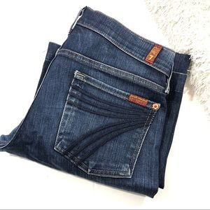 7 Fam Dojo Blue Jeans 28